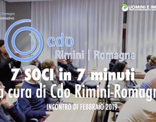 Uomini e Imprese TV - CDO 7x7 di Febbraio 2019 - Gli imprenditori si presentano
