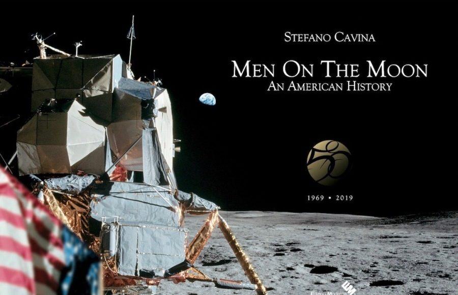 Men On The Moon -Edizioni moderna-libro